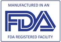 FDA Registered Facility Logo